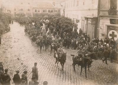 Horthy Miklós bevonulása Székesfehérvárra