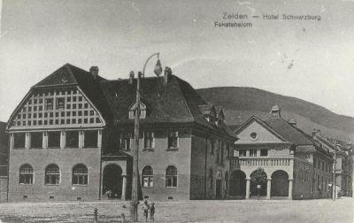 Feketevár Szálloda, Feketehalom, 1920-as évek