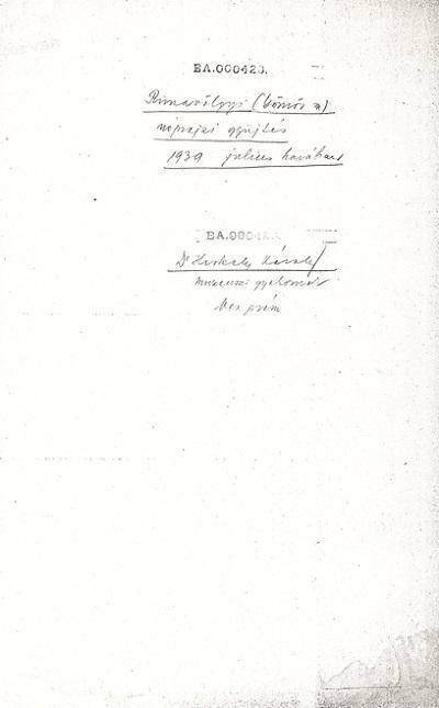 Herkely Károly: Monográfia