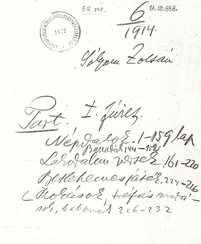 Sólyom Zoltán: Folklór
