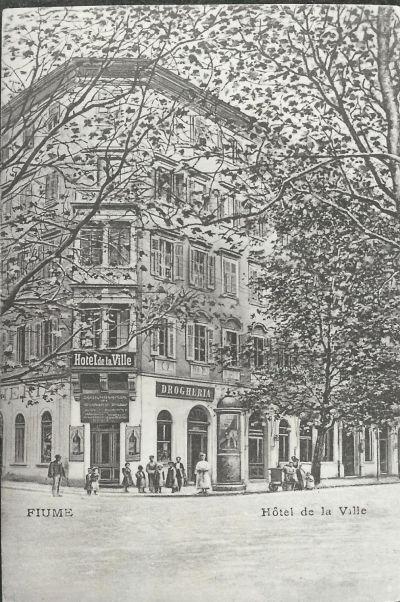 Hotel de la Ville, Fiume, 1903