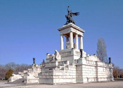 Fiumei úti Nemzeti Sírkert – Kossuth Lajos mauzóleuma