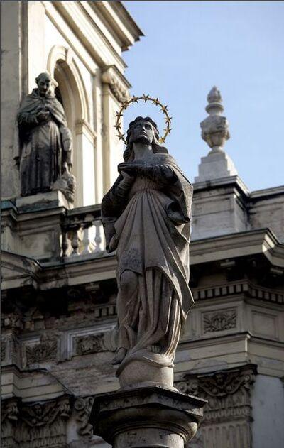 Immaculata kegyoszlop