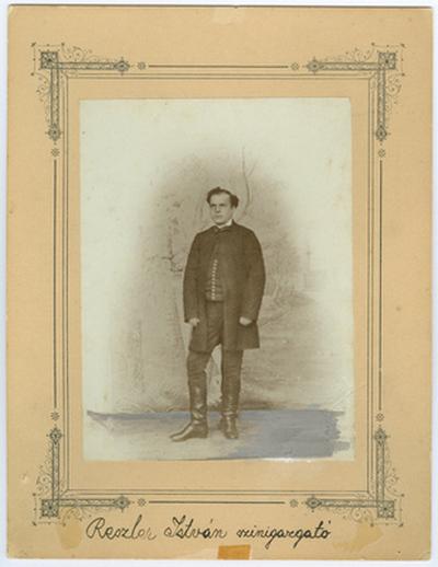 Reszler István színigazgató