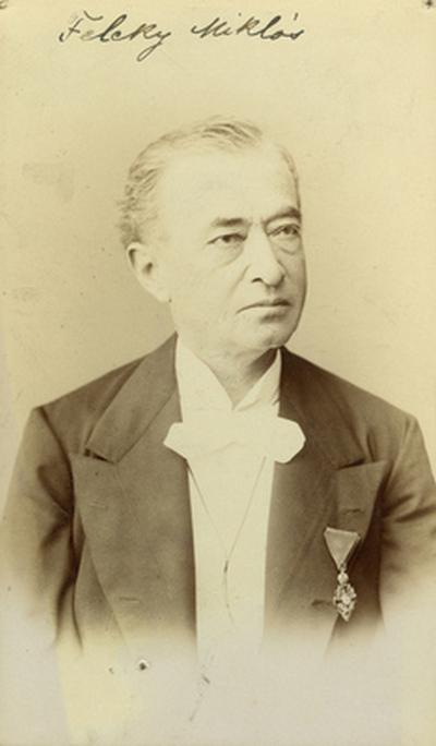 Feleky Miklós színész Ferenc József-renddel