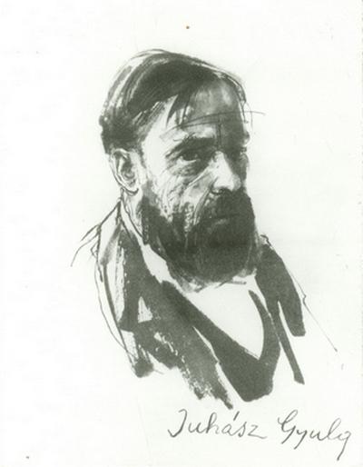 Juhász Gyula (tusrajz)