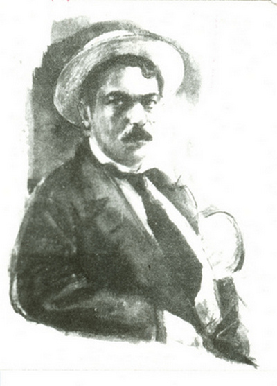 Bródy Sándor (akvarell Székely Aladár képe nyomán)