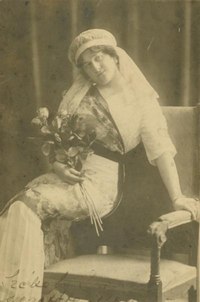 Zilahy Gyuláné Singhoffer Vilma énekesnő