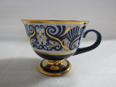 Teás csésze, porcelán