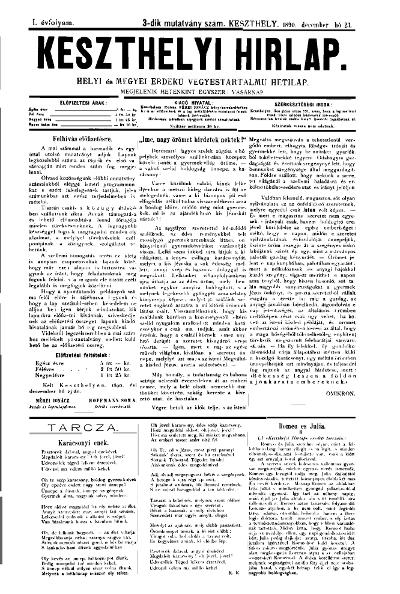 Keszthelyi Hirlap 1890.12.23.