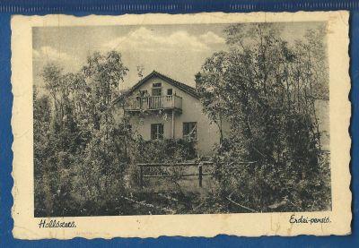 Erdei Panzió  - képeslap, Bükkszentkereszt, 1951