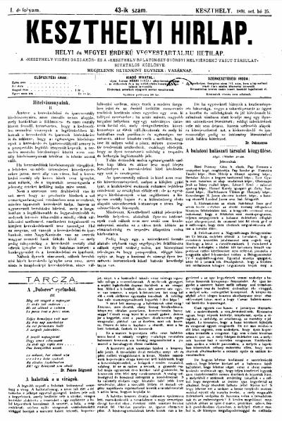 Keszthelyi Hirlap 1891.10.25.