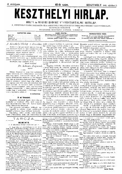 Keszthelyi Hirlap 1892.10.02.