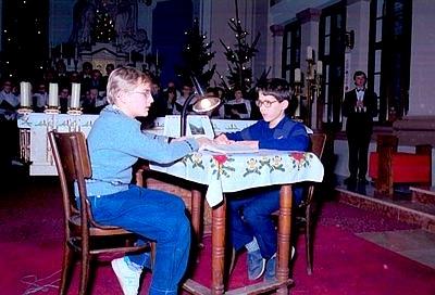 Betlehemes játék a Karmelita bazilikában