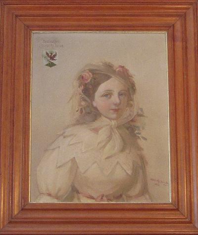 Szegedy Róza portréja