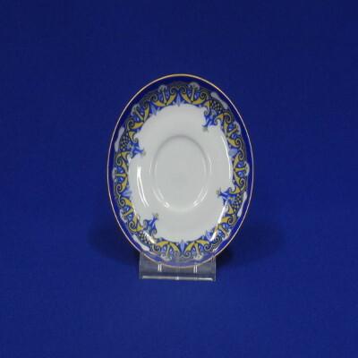 Mokka alj, porcelán