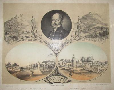 Kisfaludy Sándor egykori háza és emlékszobra Sümegen
