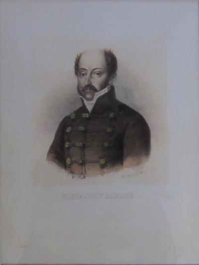 Kisfaludy Sándor mellképe