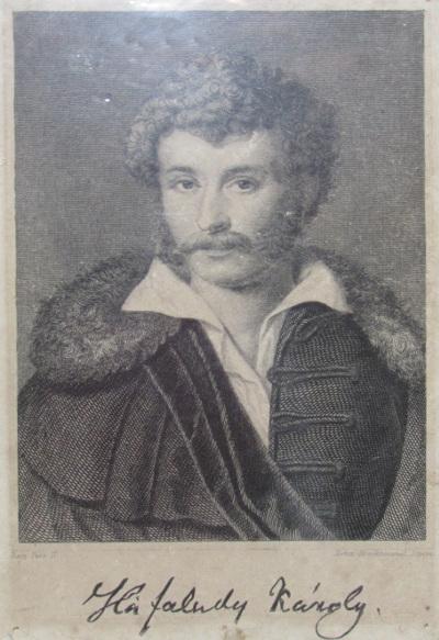 Kisfaludy Károly mellképe