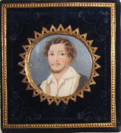 Kisfaludy Károly miniatűr