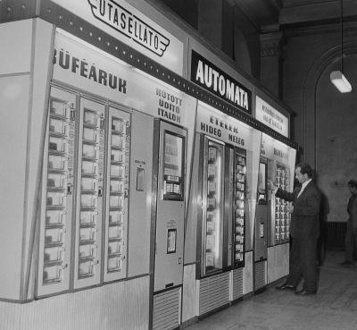 MÁV Utasellátó automatái