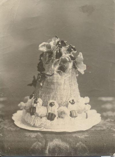 Marcis cukrászda parfé tortája