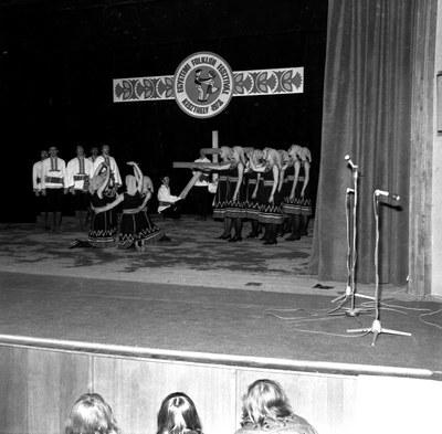 Egyetemi folklór fesztivál 1978