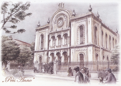 A pécsi Zsinagóga