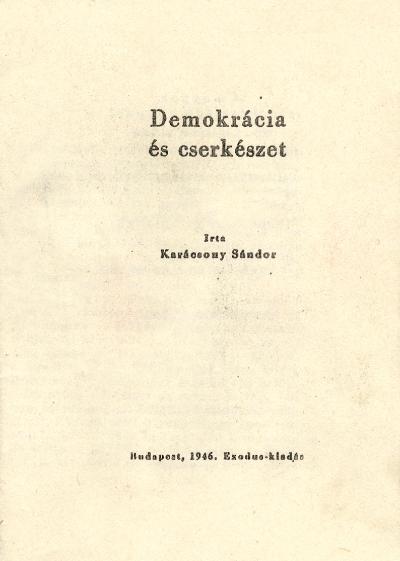 Demokrácia és cserkészet