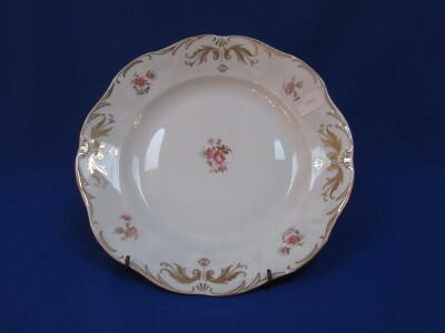 Lapos tányér, porcelán