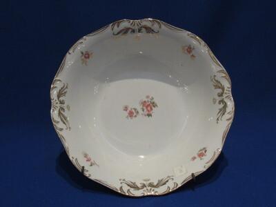Salátás tál, porcelán