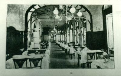 Neiser Jakab étterme, Budapest, 1908
