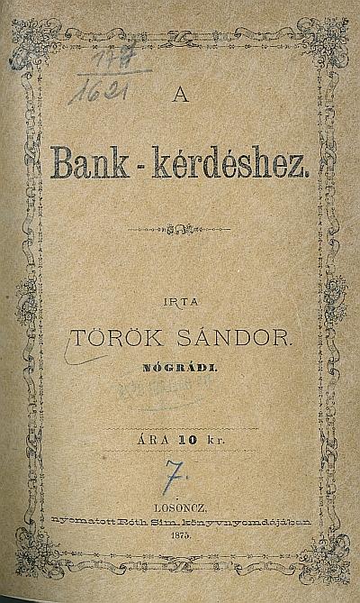 A bank-kérdéshez