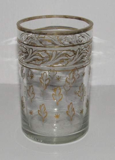 Henger alakú üvegpohár