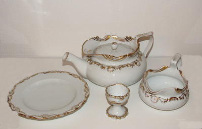 Neorokokó porcelán készlet