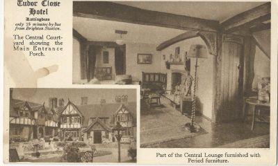 Tudor Close Hotel, Rottingdean  - képes levelezőlap