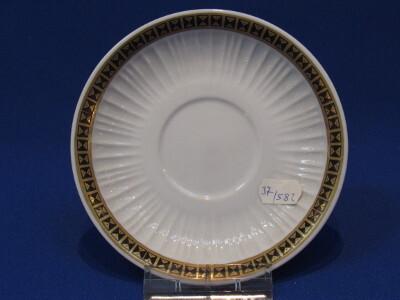 159/B Kávés alj, porcelán