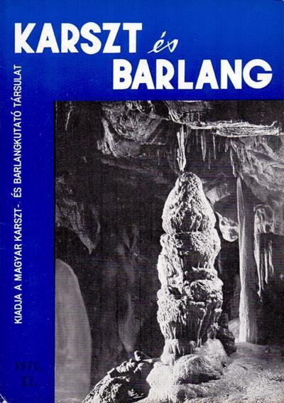 Karszt és barlang 1970. II.