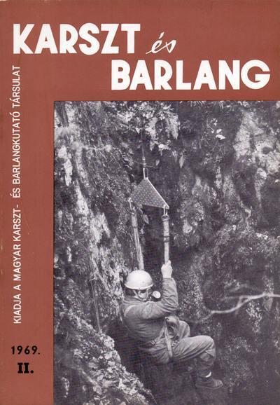 Karszt és barlang 1969. II.