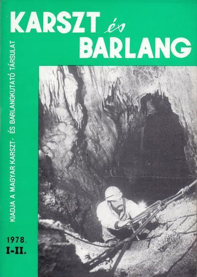Karszt és barlang 1978. I-II.