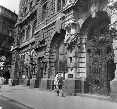 A New York palota bejárata