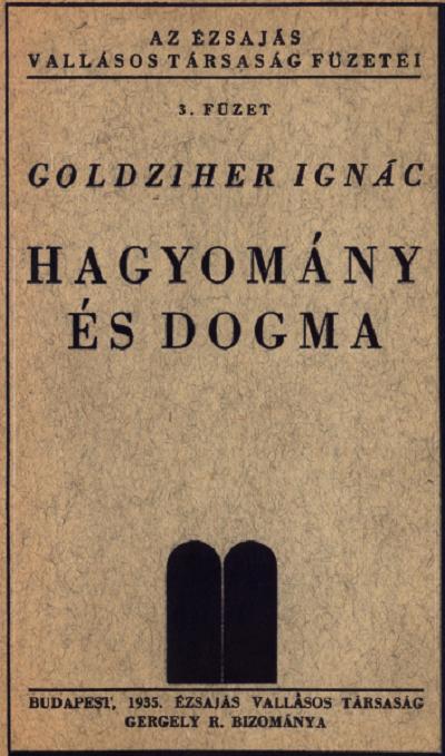 Hagyomány és dogma