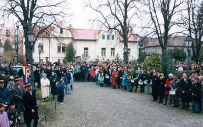 Március 15-i ünnepség 1999