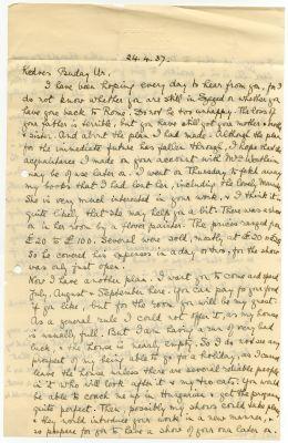 C. K. Jenkins levele Buday Györgyhöz