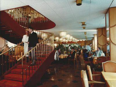 Hilton Szálloda presszója, fénykép