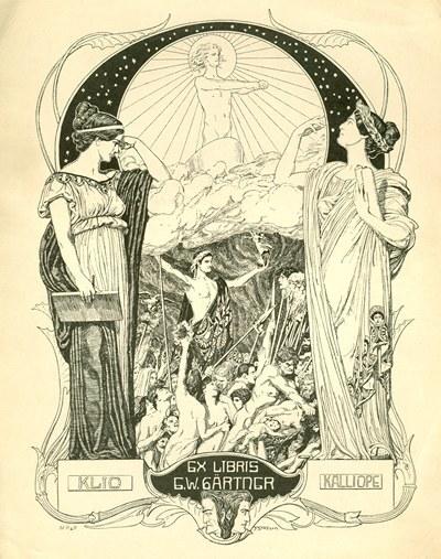 Ex libris G.W. Gärtner