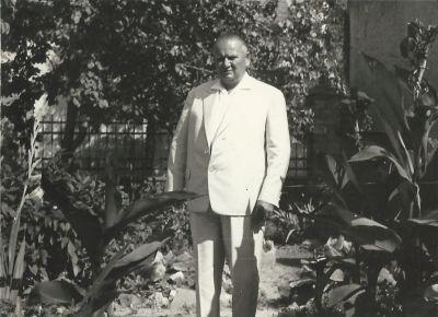 Vécsey Jenő cukrászmester, fénykép