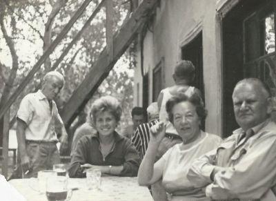 Vécsey Jenő cukrászmester és neje, fénykép