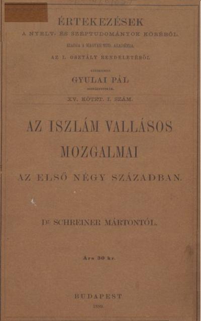 Az iszlám vallásos mozgalmai