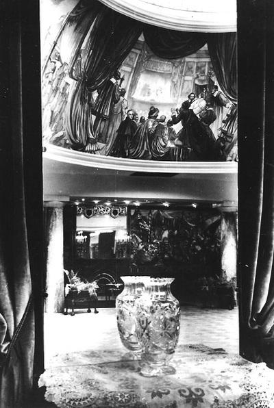 Hotel Britannia, Budapest 1938.